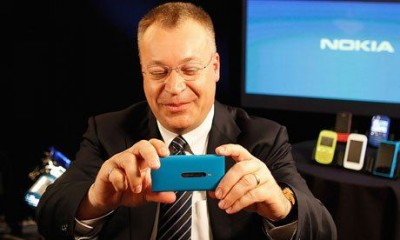 诺基亚CEO史蒂芬·埃洛普(Stephen Elop)