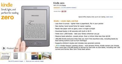 亚马逊:Kindle Zero