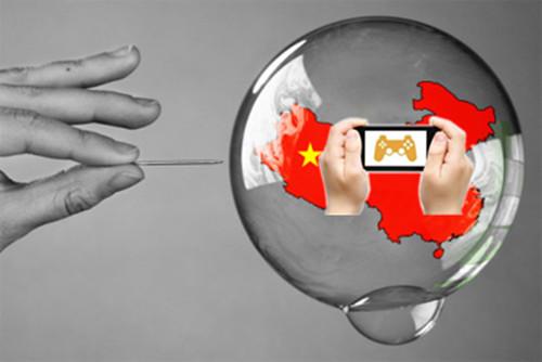 中国手游市场泡沫化严重