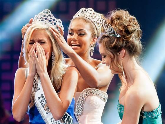 2013年美国妙龄小姐大赛冠军遭黑客威胁
