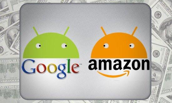 谷歌 vs 亚马逊