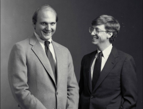 英雄相惜:盖茨应力荐鲍尔默重任微软CEO
