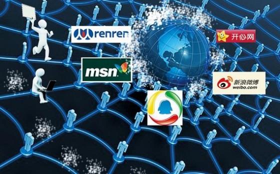 行进中的社交网络生活