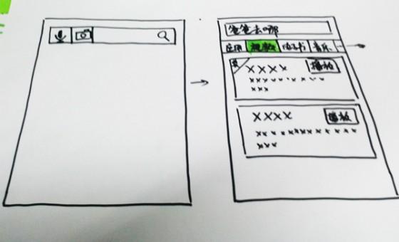 DESIGN HACKATHONE原型线框图