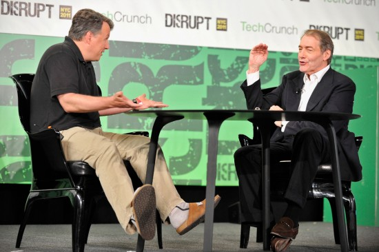 Paul Graham & Charlie Rose at TechCrunch Disrupt New York 2011