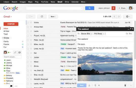 New Gmail  品味:正在变平的世界