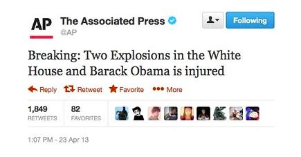 AP Twitter Hacked