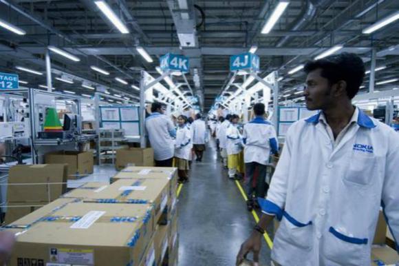 狂砸50億美元,富士康將在印度建電子製造工廠