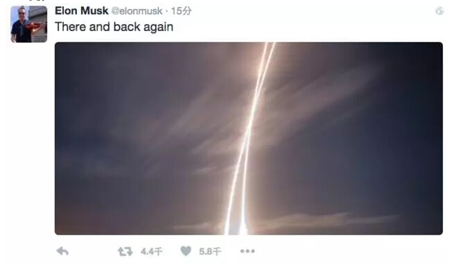 """马斯克在推特上说了一句简单的""""去而复返"""""""