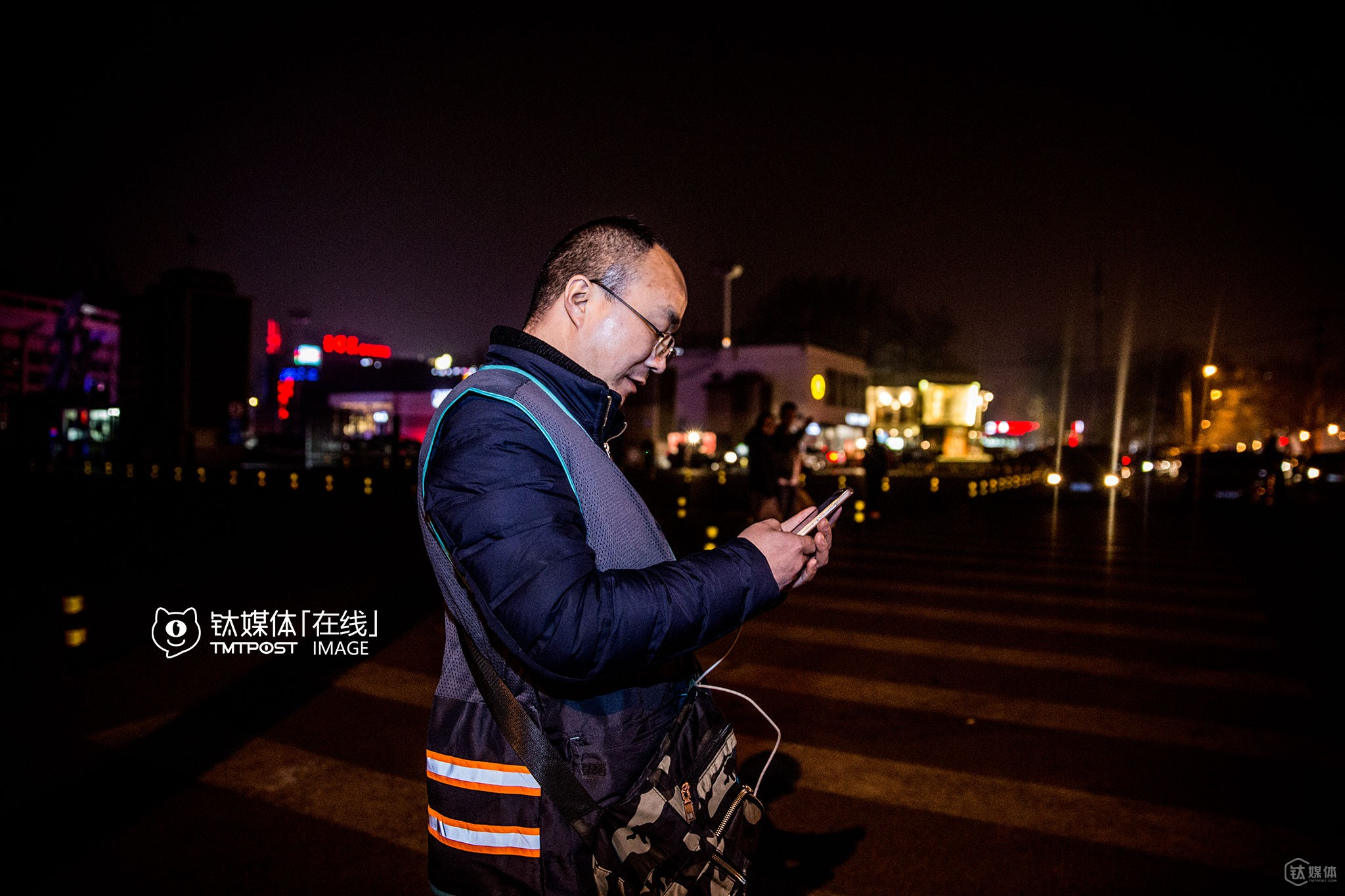 "It was 24:00 o'clock, Beijing. A part-time designated driver was getting prepared to go back home and searching in his smartphone to see which bus he should take. He's been working part-time as a designated driver for two months, only to make some extra money. ""It's already 24:00 o'clock, and I've got to go home and have a rest, since I still need to go to work tomorrow,"" he explained."