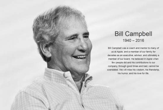 苹果官网挂出了巨大的坎贝尔纪念照片