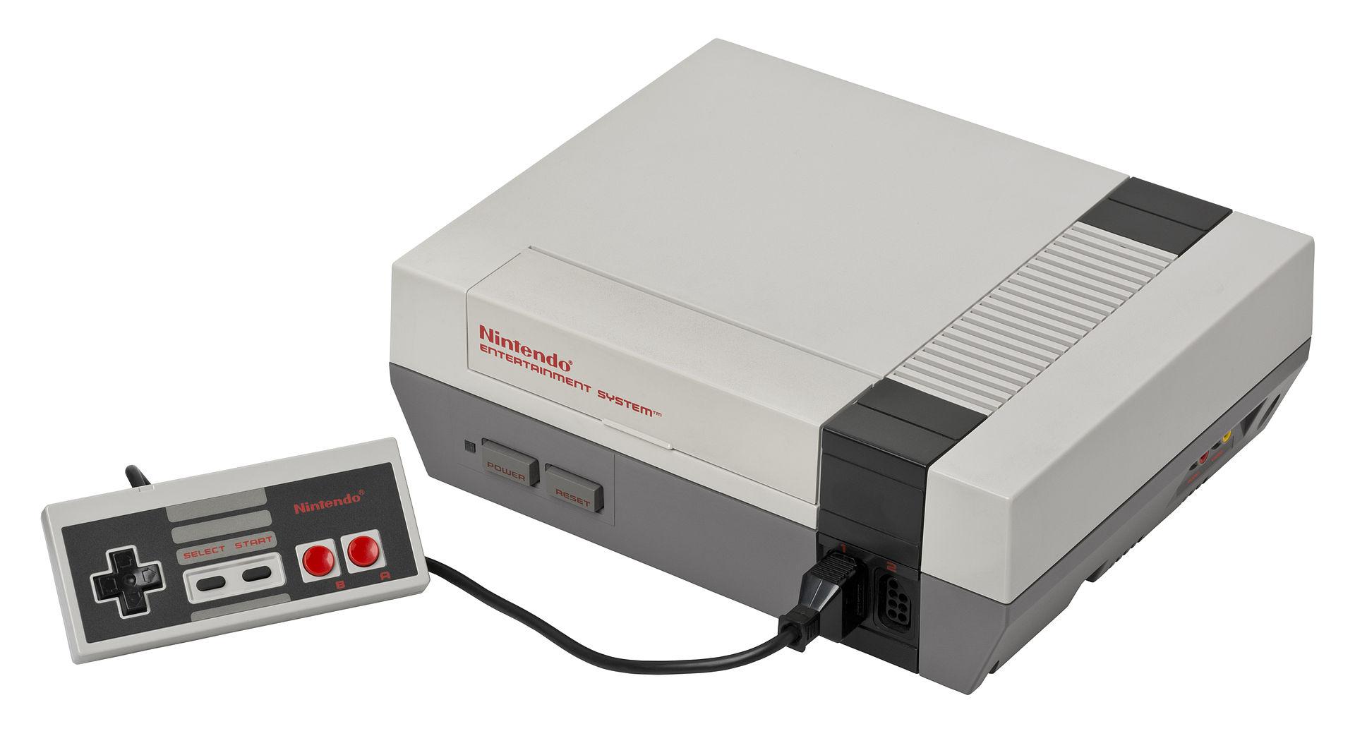 任天堂在美国推出的 NES Evan-Amos