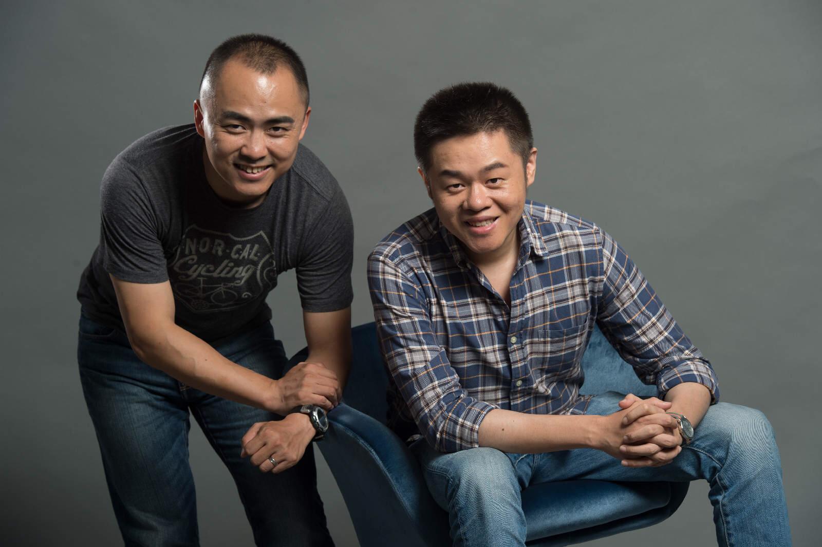 Left: Kuai Jiaqi, former CEO of Dada Right: Yang Jun, former CTO of Dada