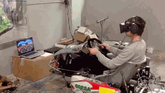 CXC Simulaitions发布的与Oculus Rift合作的演示图