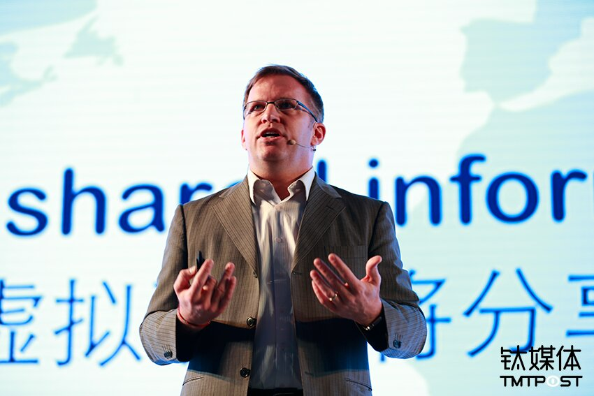 Kevin Geiger, the Executive Director of Beijing Film Academy's International Animation & Virtual Reality Research Center