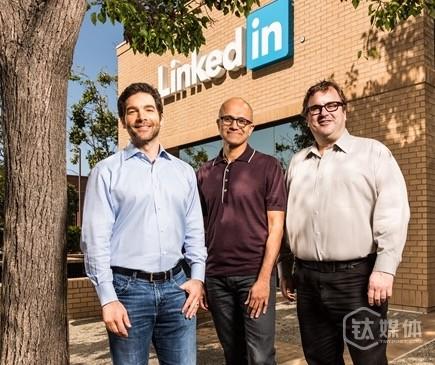 微软全资收购Linkedin