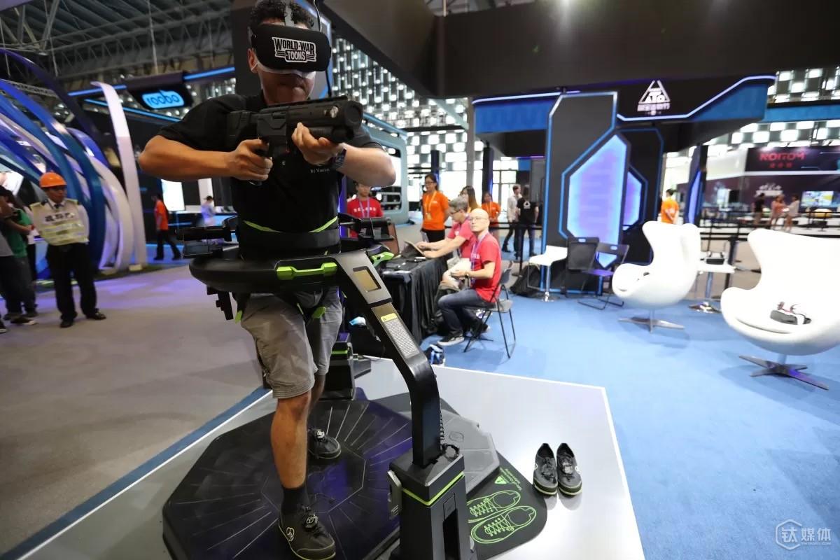 T板块的VR游戏体验