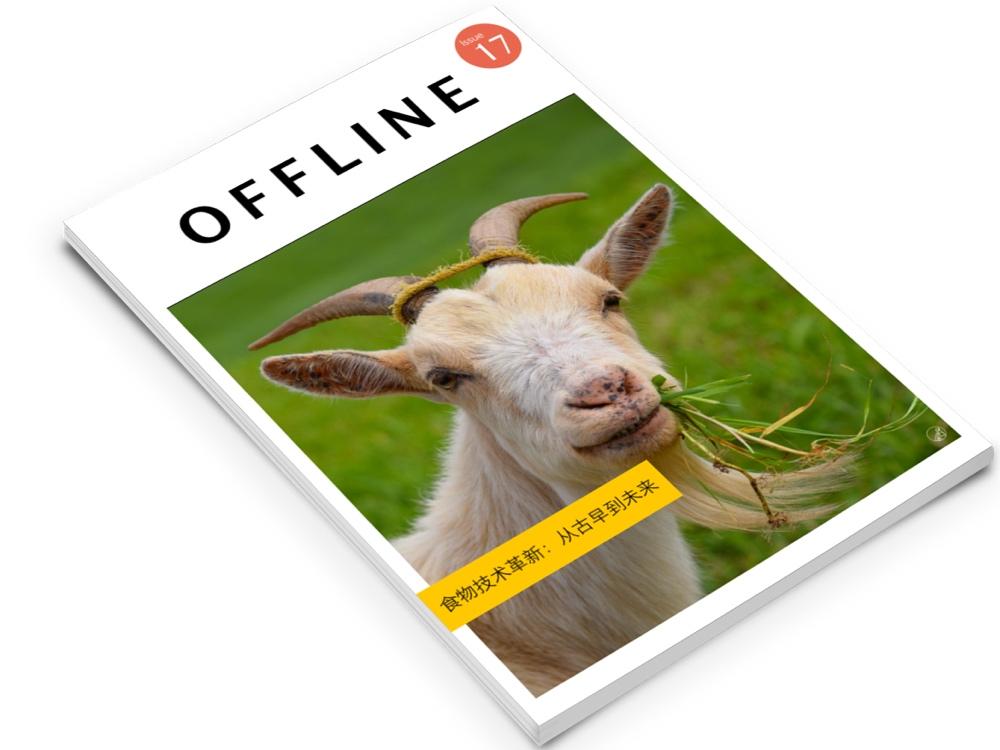 《离线》杂志最新一期印刷版