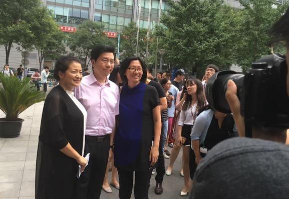 (From left to right: Zehong Zhao, Kaifu Lee, Xuemei Gu)
