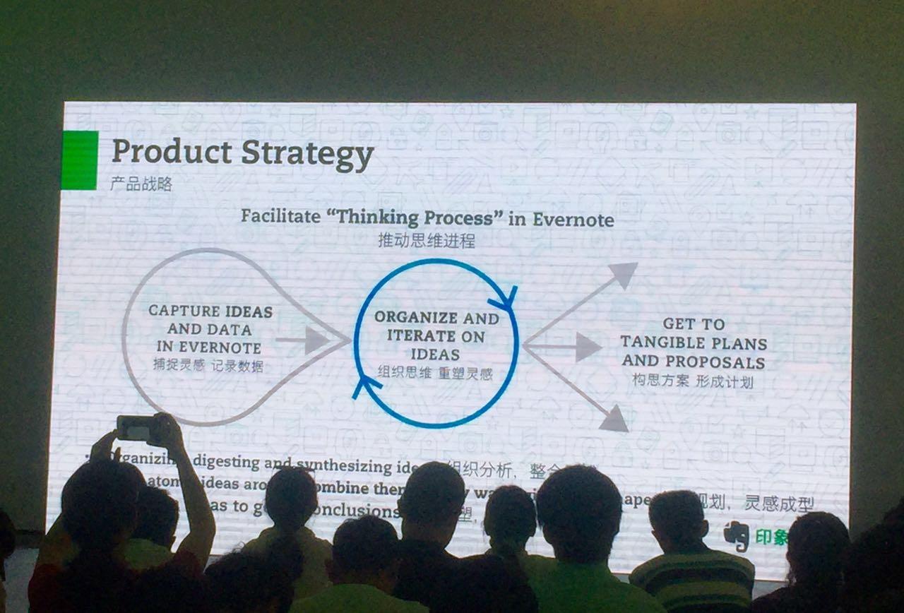印象笔记北京派对上发布的产品战略