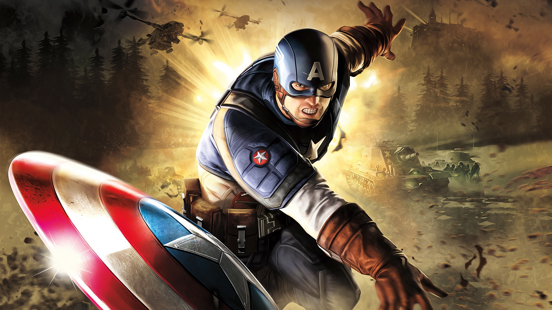 图为《美国队长3》剧照