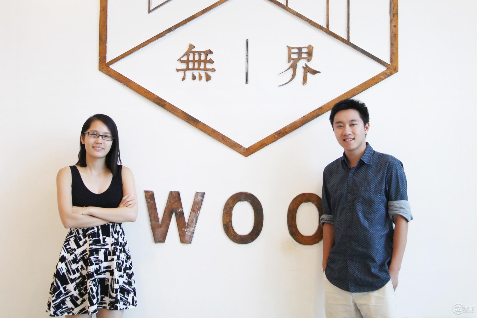 Wan Liushuo and Han Xinqi, co-founders of WooSpace