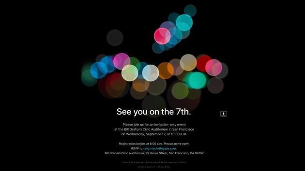 苹果此次邀请函