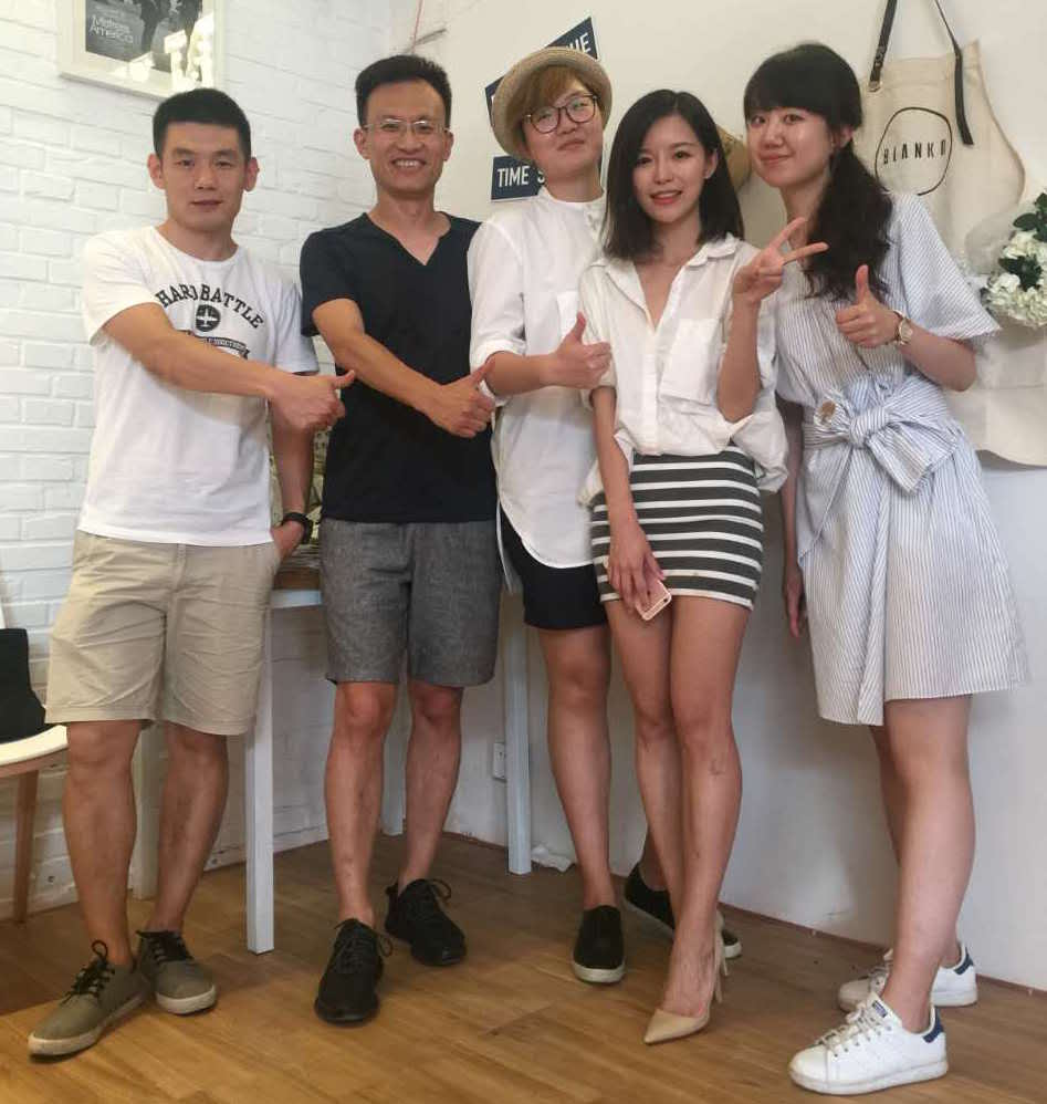 Lilin communication platform, Gao Chao's five-member team