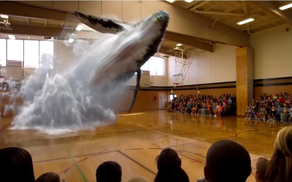 Magic Leap实现的视觉效果图