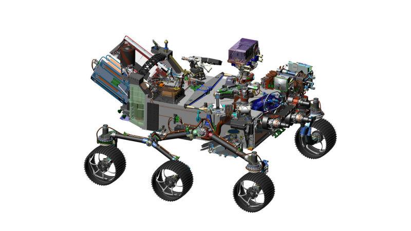NASA 2020年规划的火星车