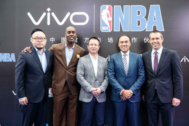 vivo与NBA签约仪式
