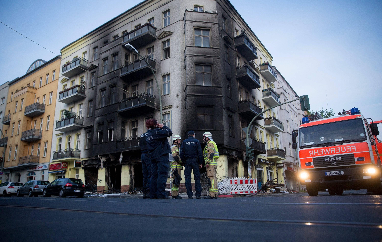 火灾现场原图 来源:dpa