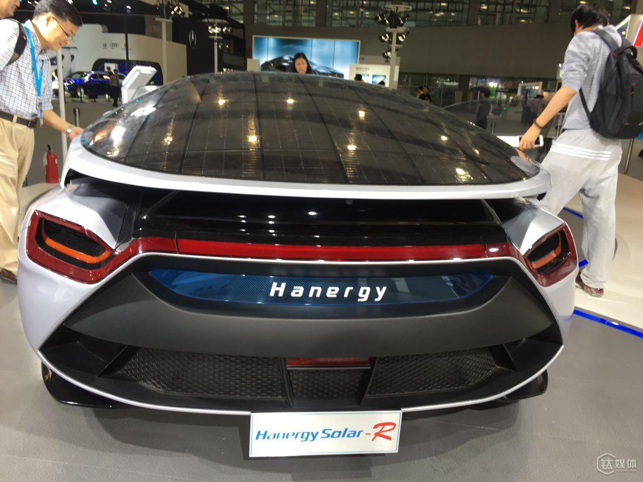 汉能太阳能概念车