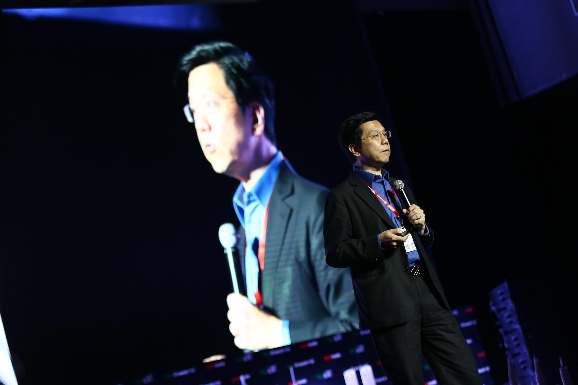 Kaifu Lee at 2016 TechCrunch Conference