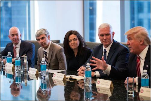"""硅谷巨头姗姗来迟的公开声明:绝不参与特朗普""""穆斯林登记""""计划"""