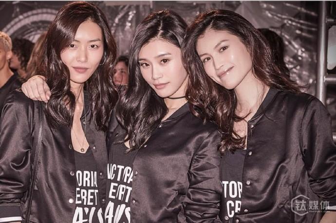 维密秀上的中国面孔越来越多