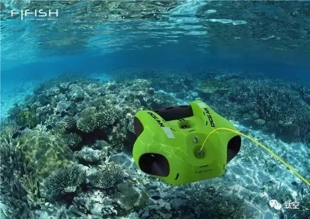 别以为无人机只会在天上飞,这个小家伙能让你秒变水下摄影师