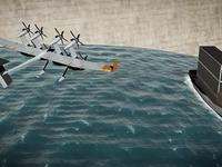 """谷歌新专利曝光!这次打算在海上用""""风筝""""给轮船提供动力"""