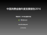 中国消费金额年度发展报告2016