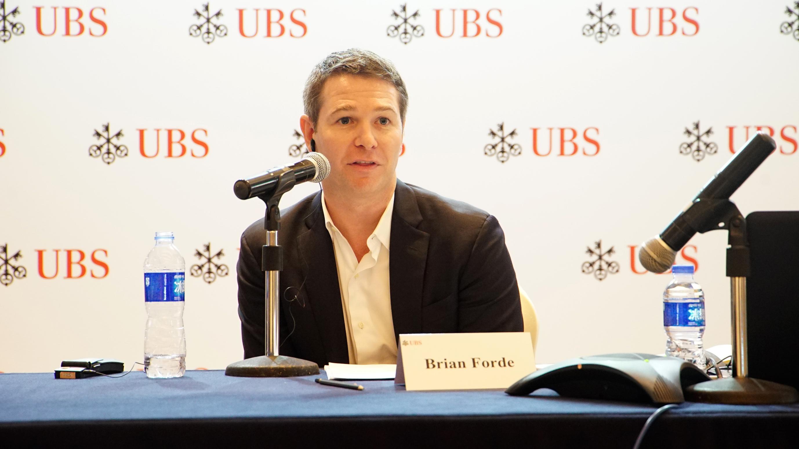 麻省理工学院斯隆商学院区块链及比特币高级讲师Brian Forde