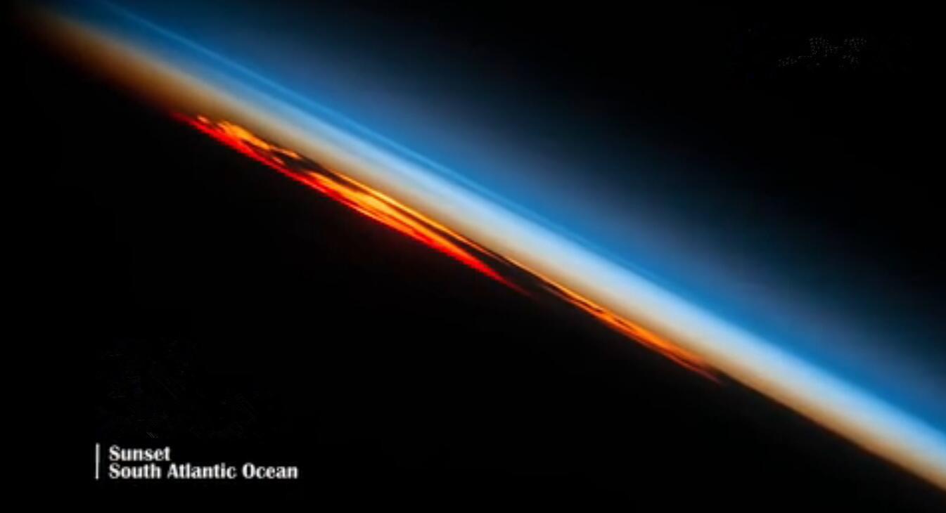 钛空视角下的地球最美瞬间,我也就看了100遍