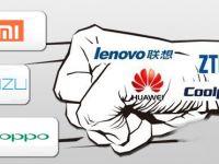 """国产手机上半年成绩单:""""中华酷联米""""将解体,中国市场全球占比下降"""